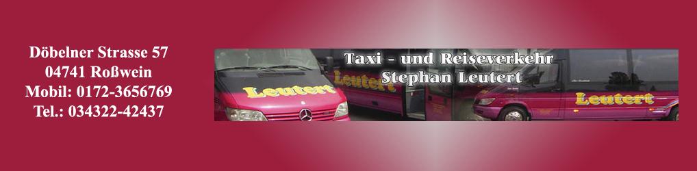 Taxi- und Reiseverkehr Stephan Leutert Logo